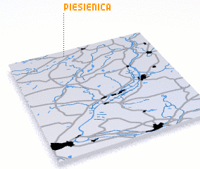 3d view of Piesienica