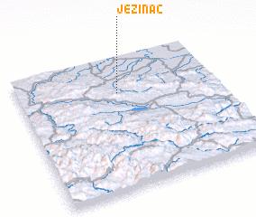 3d view of Ježinac