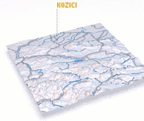 3d view of Koziči