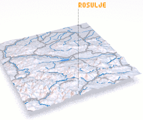3d view of Rosulje