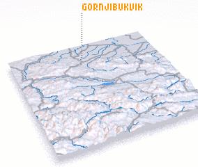 3d view of Gornji Bukvik