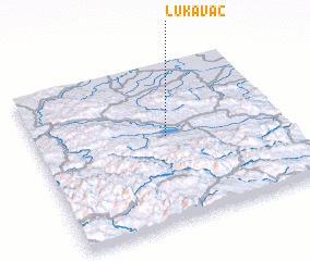 3d view of Lukavac