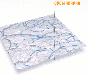 3d view of Ovčija Ravan