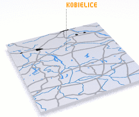 3d view of Kobielice