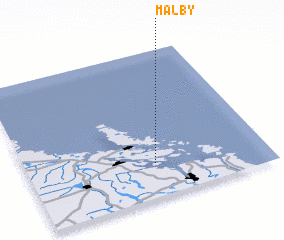 3d view of Mälby