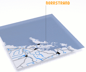 3d view of Norrstrand