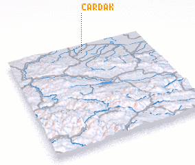 3d view of Čardak