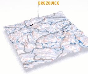 3d view of Brezovice