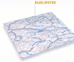 3d view of Bijeli Potok