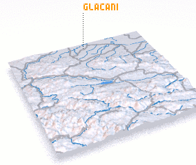 3d view of Glačani