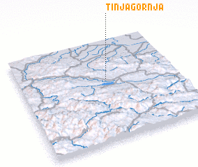 3d view of Tinja Gornja