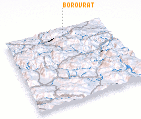 3d view of Borovrat