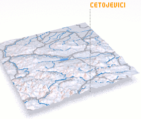 3d view of Četojevići