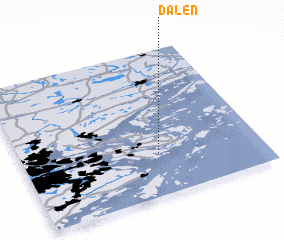 3d view of Dalen
