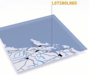 3d view of Lotsholmen