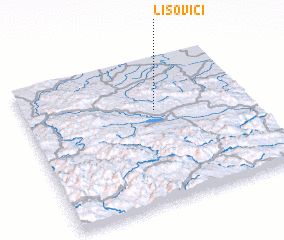 3d view of Lisovići