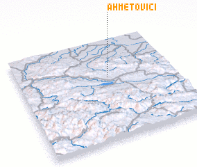 3d view of Ahmetovići