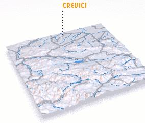 3d view of Crevići
