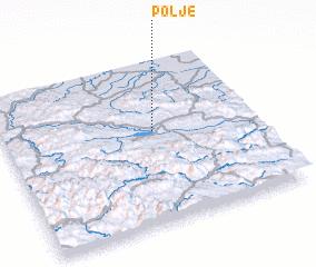3d view of Polje
