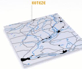 3d view of Koteże