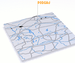 3d view of Podgaj