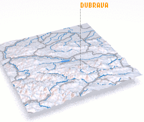 3d view of Dubrava