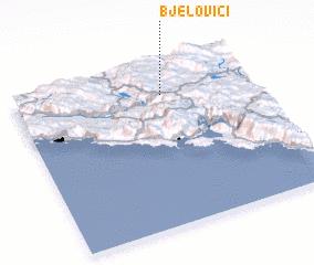 3d view of Bjelovići