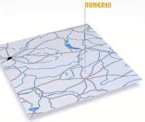 3d view of Numerki
