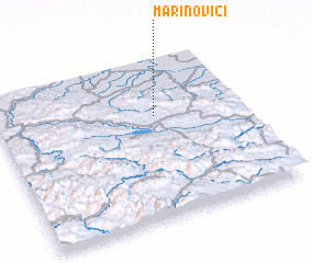 3d view of Marinovići