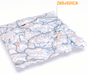 3d view of Žanjevica