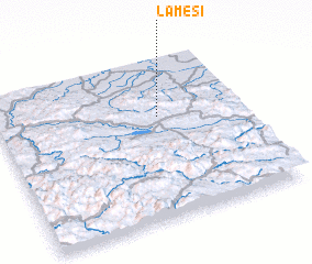 3d view of Lameši