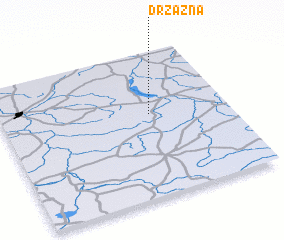 3d view of Drzązna
