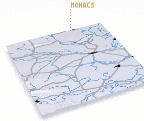 3d view of Mohács