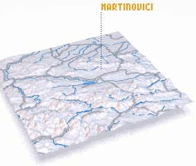 3d view of Martinovići