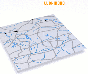 3d view of Ludwikowo