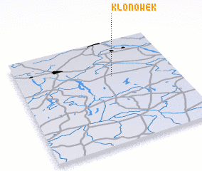 3d view of Klonówek