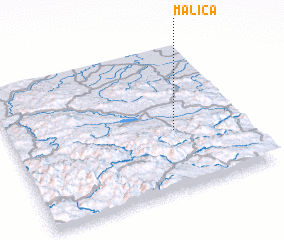3d view of Malića