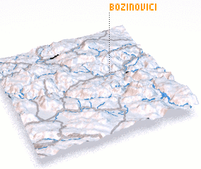 3d view of Božinovići