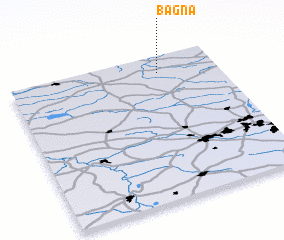 3d view of Bagna