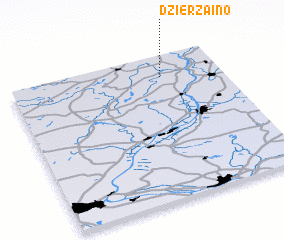 3d view of Dzierząino