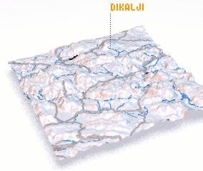 3d view of Dikalji