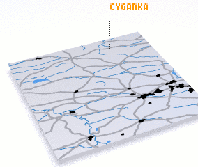3d view of Cyganka