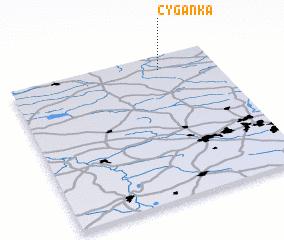 3d view of Cyganka