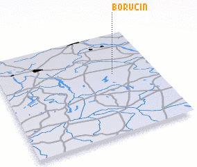 3d view of Borucin