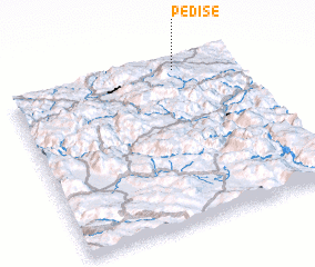 3d view of Pediše