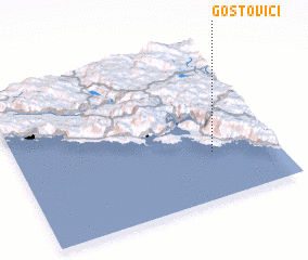 3d view of Gostovići