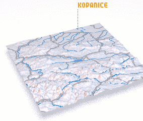 3d view of Kopanice