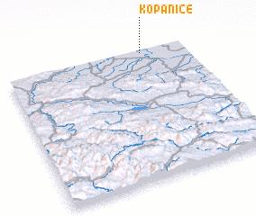 3d view of Kopanice