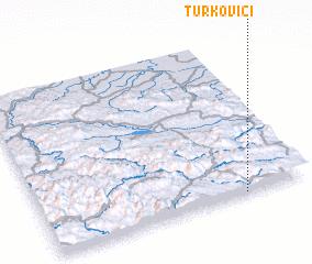 3d view of Turkovići