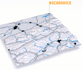 3d view of Bocanovice